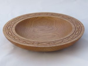 Chip-Carved Platter