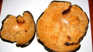 Maple Burl stacking bowls